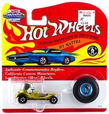 Hot Wheels Vintage Collection Red Baron Metallic Yellow Series K MOC 1994