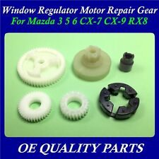 Set of 6pcs Window Regulator Motor Repair Gear for Mazda 3 5 6 CX7 CX9 RX8