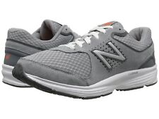 NEW Mens New Balance MW411v2 Grey Leather A5500 Lace Up Walking Shoes AUTHENTIC