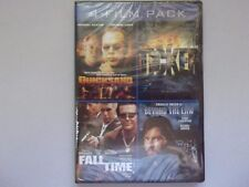 4-Film pack  Quicksand/Ticker/fall time/Beyond the law   2- DVD set  New  sealed