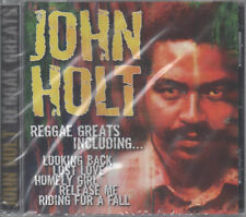 John Holt Reggae Greats CD NEU Looking Back Stick By Me & I'll Stick By You