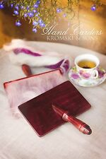 Kromski Hand Cards Walnut Mahogany Clear or Unfinished  TPI 72