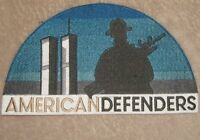 American Defenders Patch - New York - Twin Towers - large size patch - 9/11