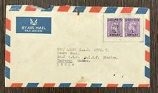 BAHRAIN 1949 AIRMAIL COVER TO INDIA RARE
