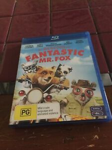 Fantastic Mr. Fox Blu Ray
