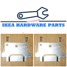 2 IKEA Bed Frame Center Beam Mounting Plate for Malm Hemnes Beds Part# 116791