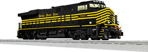 LIONEL NEW NEVER RUN SEALED NS NICKEL PLATE HERITAGE ES44AC DUMMY O NORFOLK