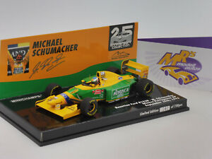 Minichamps 517935705 # Benetton Ford B193B Win Portugal 1993 M. Schumacher 1:43