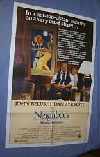 Original 1981 NEIGHBORS 27x41 1 sheet JOHN BELUSHI Dan Aykroyd