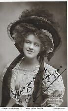 LILIAN DIGGES ~ HAND SIGNED AUTOGRAPHED POSTCARD ~ THEATRE PERFORMER