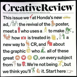 CREATIVE REVIEW 03/2011 HONDA CASE STUDY Gert Arntz TONY MAIDMENT Film Posters