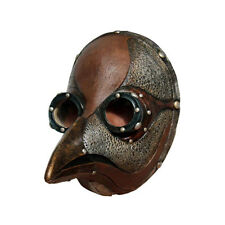 Steampunk Plague Doctor Faux Leather Ghoulish Adult Halloween Costume Mask