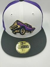 New Era Fresno Grizzlies LOWRIDERS 59FIFTY Size 7 1/4 Fitted MiLB Minors