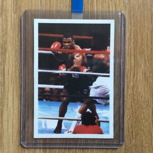 Mike Tyson Rookie Card - A Question of Sport UK Release 1987 RARE Read Details