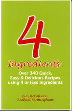 4 Ingredients #1 Kim McCosker, Rachael Bermingham | RARE SIGNED by BOTH QikPost