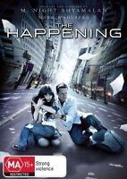 The Happening DVD region 4 Like New mark Wahlberg
