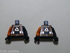 lego 2 torses alpha team arctic set 4774 4742  / 2 minifig torso