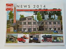 BUSCH News 2014 Modellwelten Automodelle Modellbahnen Neuheiten Katalog