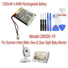 Premium Battery for Summer SecureSight 02040 Slim /& Secure 02 Baby Touch 02000