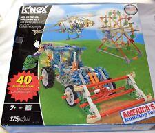 Knex K'Nex 40 Models Building Set 375 pcs New In Box Creative Toy Child Truck +