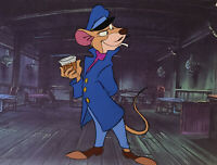 Disney: The Great Mouse Detective: Original Production Cel-Basil of Baker Street