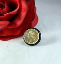 14kt Italy Milor Coin Ring Size 6. 7.84g CAT RESCUE