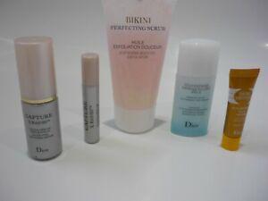 Dior Minis Bundle Capture XR60/80 Serum Body Oil  Self Tan Make Up Remover NEW