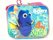 Disney Finding Dory Sided Zipper Insulated Lunch Box Tote Bag