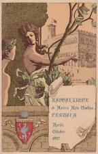 C2766) PERUGIA 1907, ESPOSIZIONE DI ANTICA ARTE UMBRA, PALAZZO DEI PRIORI. VG.
