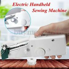 Portable Mini Electric Handheld Sewing Machine Handy Home Household Stitch New