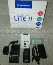 1996 Motorola Micro TAC Retro Brick Cellphone Cellular Flip Phone w/Charger Box