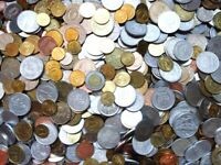 Lot of 100 world coins wholesale from random countries circulated some repeats