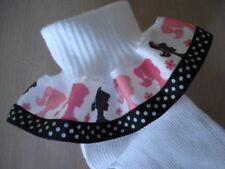 RUFFLE SOCKS MTM BARBIE INFANT TODDLER GIRLS BOBBIE SOCKS BIRTHDAY COSTUME