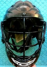 "Cascade CS Black Lacrosse Helmet with Chin Strap Youth, Up To 21"" 12 Yr Lax"