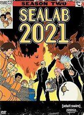 SEALAB 2021 Season Two 2 DVD Factory Sealed Mint Region 1 Adult Swim