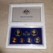 Australia 1981 Proof Coin Set with Foam Case & certificate, excellent condition