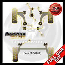 Ford Fiesta Mk7 (08-) Powerflex Black Complete Bush Kit