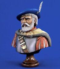 Verlinden 1/5 English Border Reiver Anglo-Scottish Raider Bust [Resin] 1702