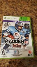 Microsoft Xbox 360 -Madden NFL 25th Anniversary...complete