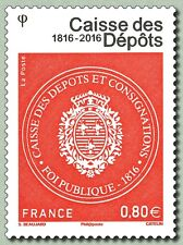 France 2016 cash deposit Caisse des Dépôts 1816-2016 1v mnh **