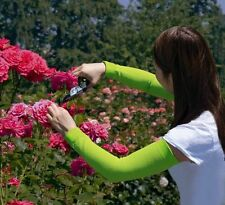 Gardening Sleeves Prevents Scrapes Scratches Skin Irritations Clean Covers Green