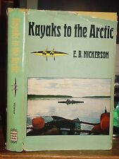 Kayaks to Arctic, Journey On Mackenzie River Canada NWT Eskimos Indians RCMP