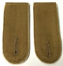 WWII GERMAN AFRIKA KORP DAK TUNIC SHOULDER BOARDS-INFANTRY