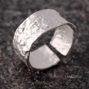 Silberring Silber 925 Ring  Verstellbar Offen Vintage R0618 🌜