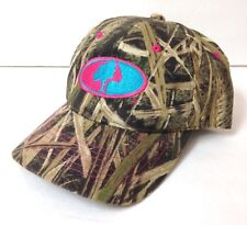 Ladies Womens MOSSY OAK CAMOUFLAGE HAT Brown Tan Camo Pink Blue Hunting  Outdoor 8b3b8fb4117
