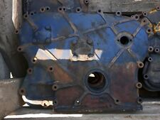 LEYLAND OR MARSHALL TRACTOR ENGINE TIMING COVER.