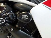 R&G RACING Aero Crash Protectors (uppers), Yamaha YZF-R1 2007-2008 *BLACK*