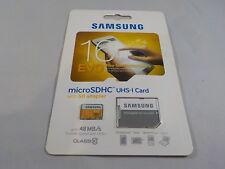 New Samsung 16GB EVO MicroSDHC UHS-I 48 MB/s Class 10 MB-MP16D Card 887276057743