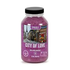 Spazazz Destinations Spa Fragrance Crystals - 22oz City of Love / Paris