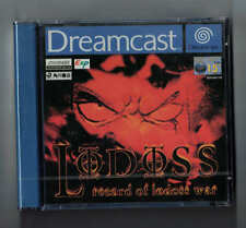 Dreamcast SEGA RECORD OF LODOSS WAR GAME Factory sealed Pal  Excellent condition